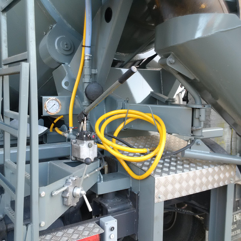 concrete mixer Handpump